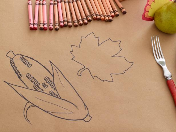 thankgsiving-kids-table-ideas-coloring-book-tablecloth-kraft-paper