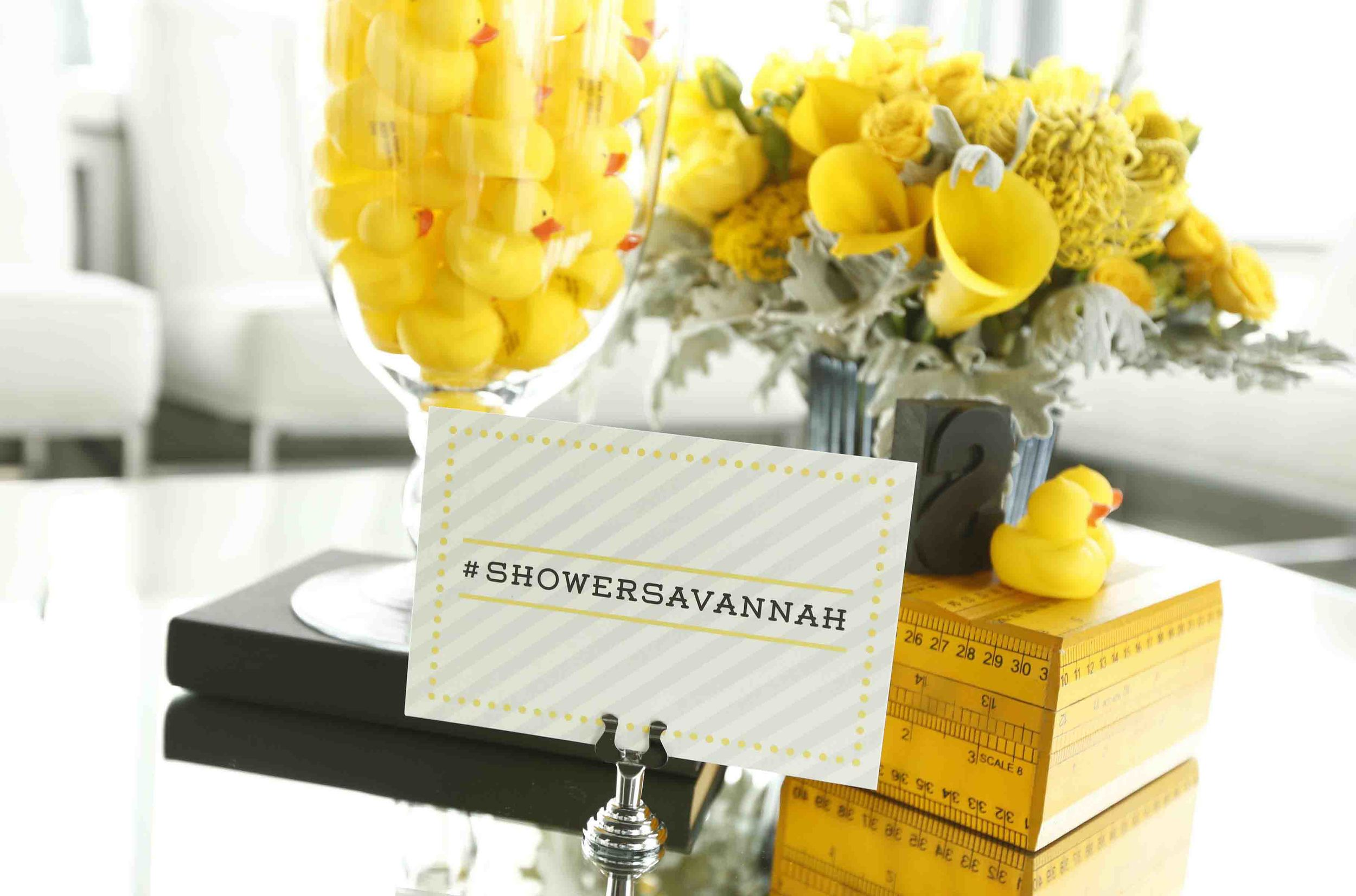 SAVANNAH GUTHRIE Baby Shower  //  MINTED //  THE GLASSHOUSES