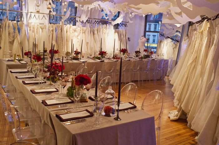 Gabriella New York Industry Dinner Party  //  Enchanted Forest Theme  //  Gabriella New York Showroom