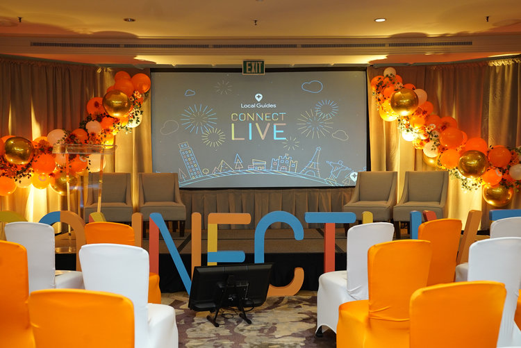 Local Guides Connect Live 2018 Rock Paper Scissors Events Event Design Styling Nyc And San Diego
