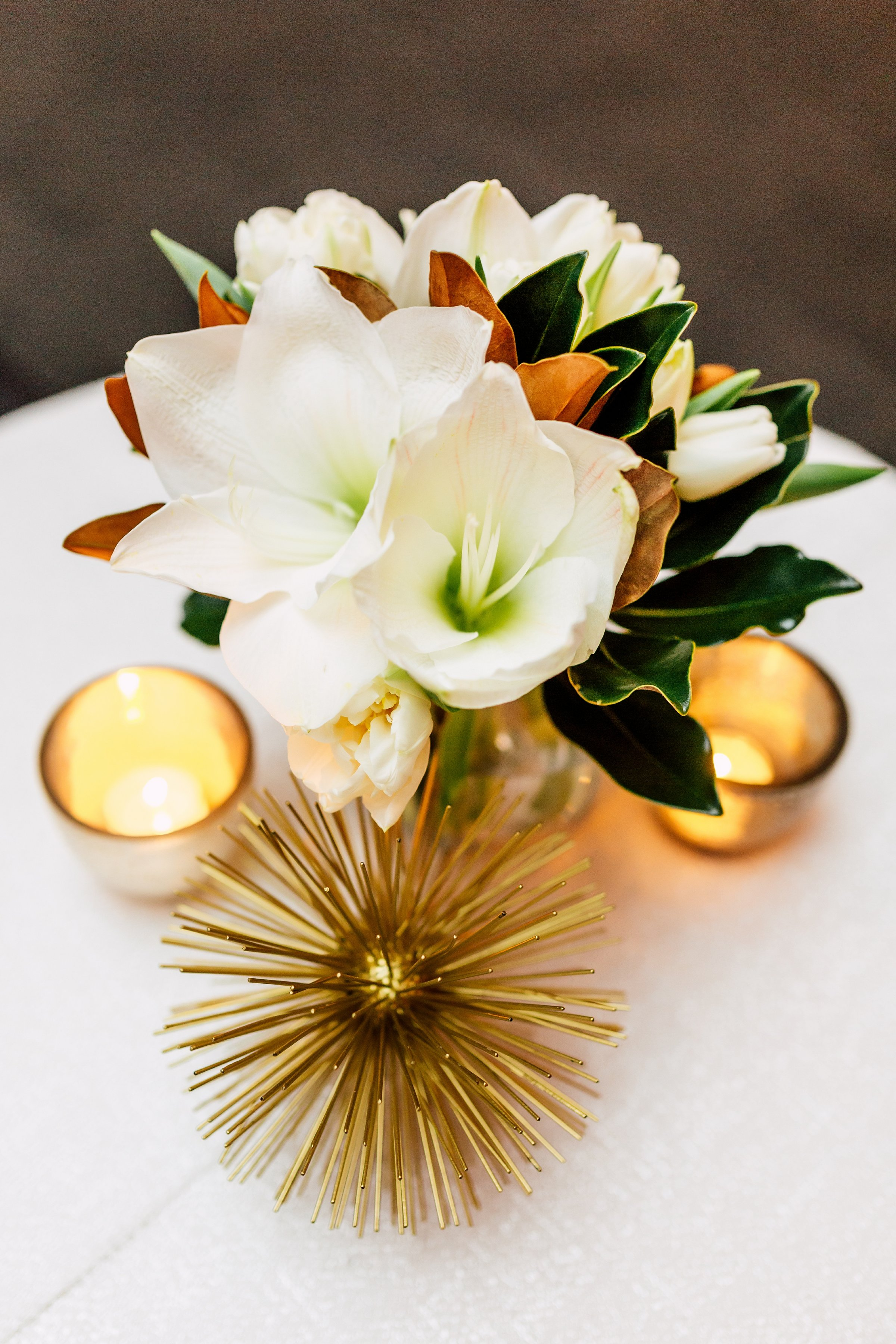 flowers-white-candles-gold-event
