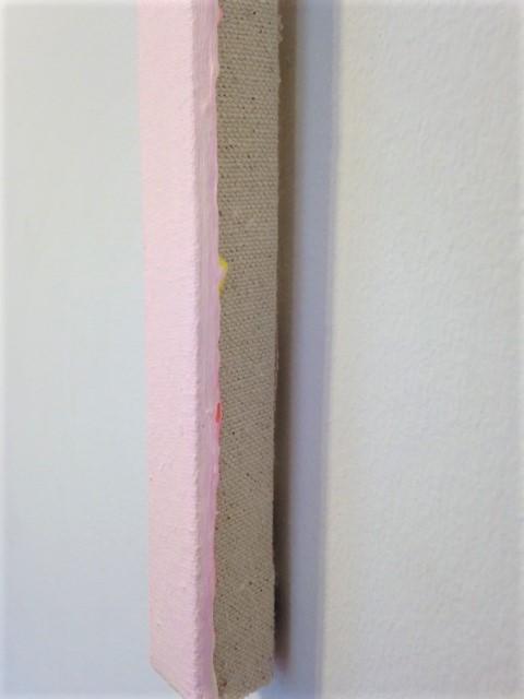 Untitled (Flourescent Pink / Hansa Yellow Light) (detail)