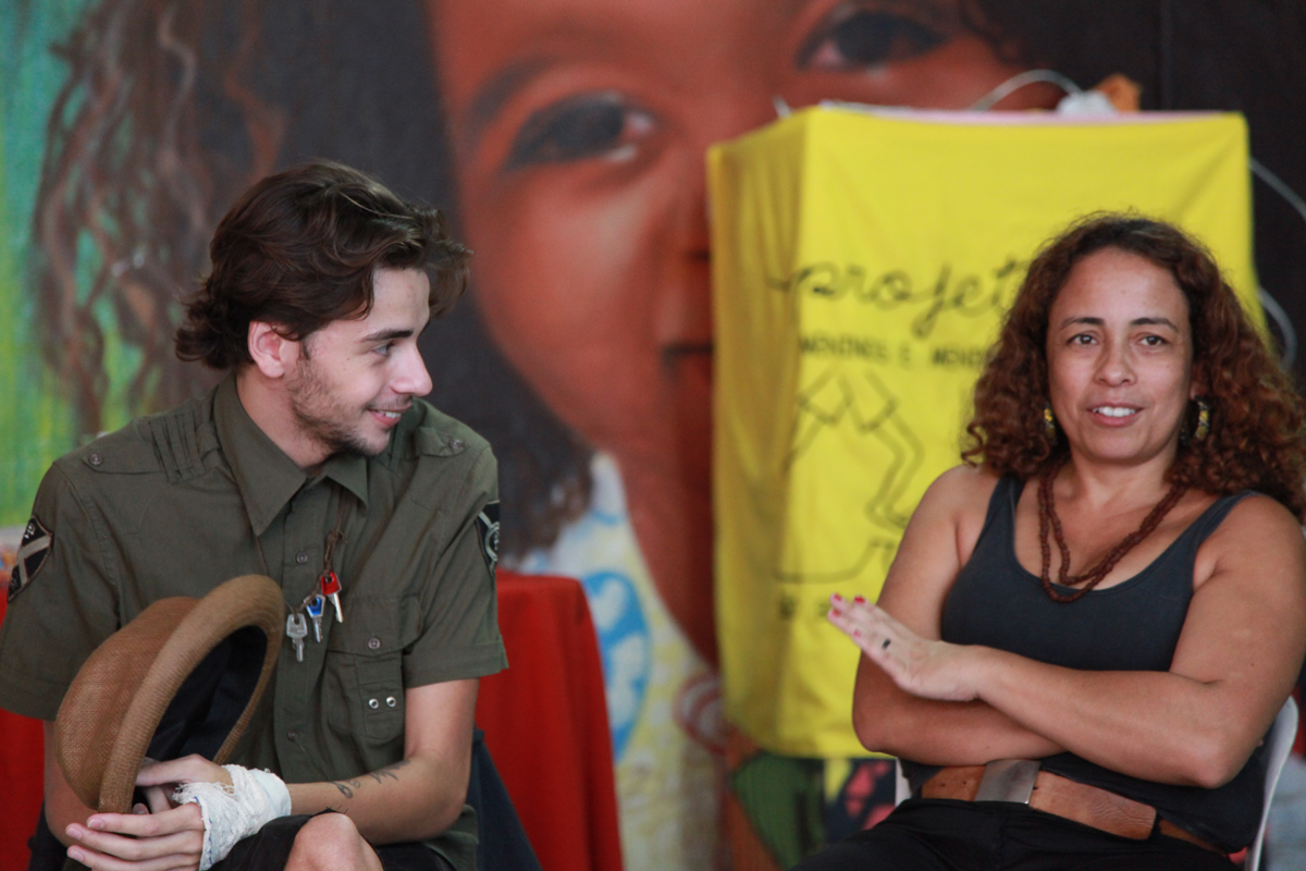 Neia Bueno speaks about history and work of Street Kids Project of Brazil