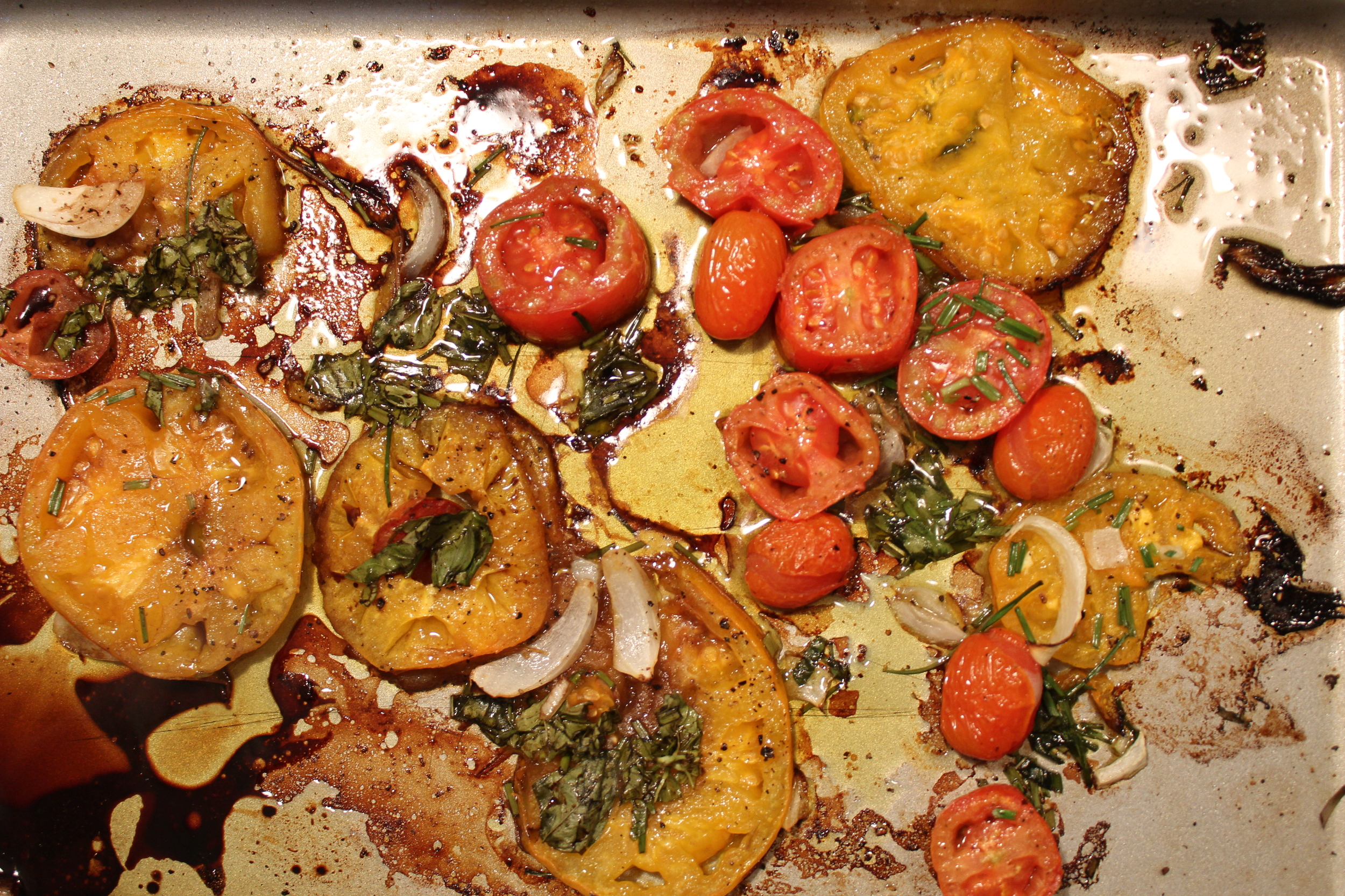 Roasted Tomatos