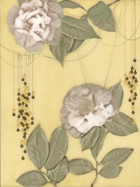 "Iro(hana) #402,19"" x 13"" paper size, $750 Framed"