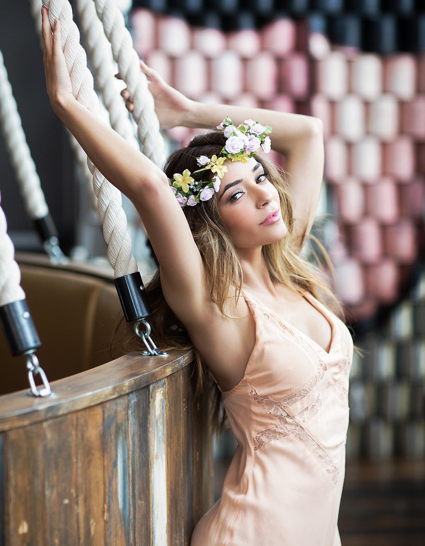 fashion series for springtrends shot for Styleline Magazine