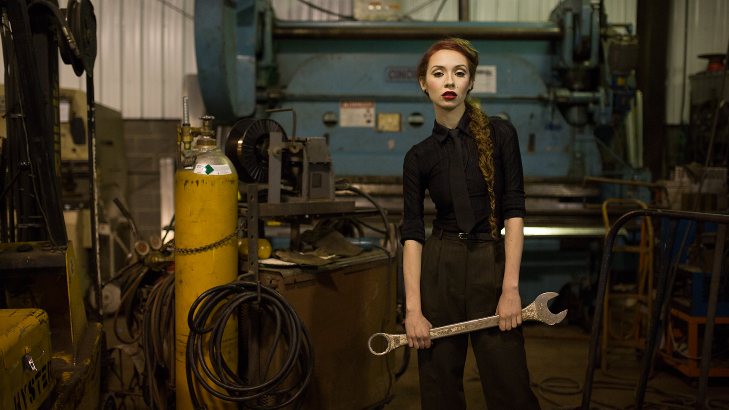 Personal fashion story  factory worker