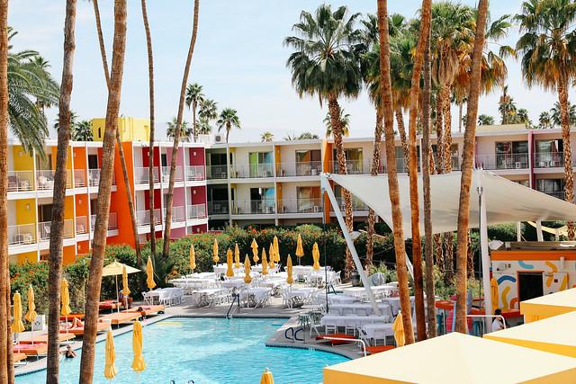 Saguar Hotel Palm Springs  Photo by Nicole Breanne