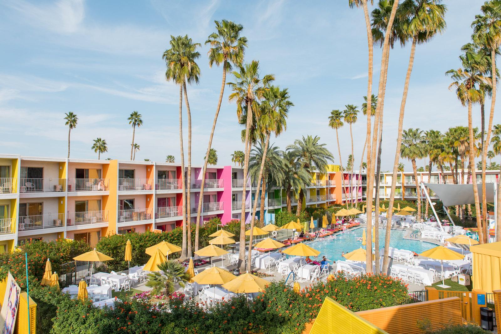 Saguaro Hotel Palm Springs,  Photo by Kristen Tucker