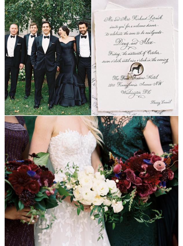 formal DC wedding