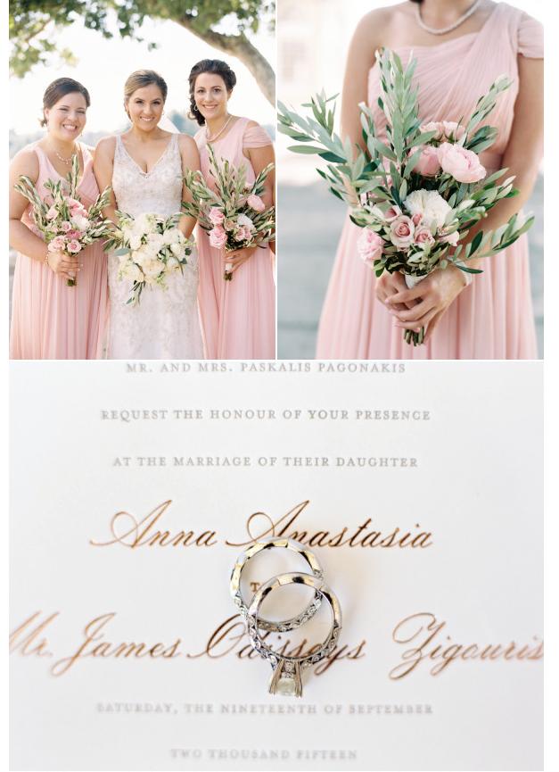 blush colored bridesmaids dresses