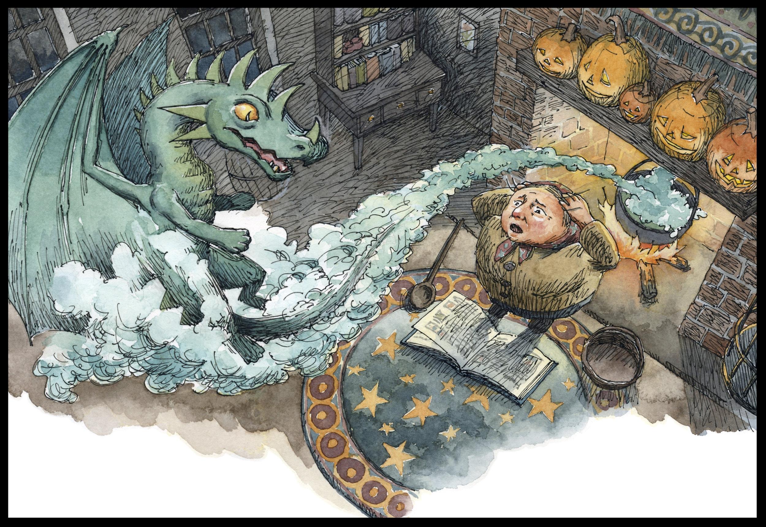 Hazel and the Dragon (Sample)