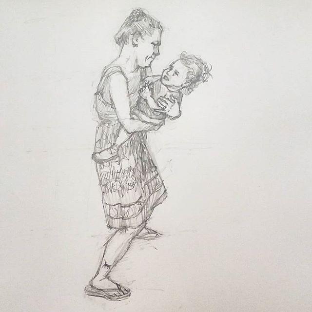 Polka No. 10 @alexmeixnerband @musikfest #festplatz #polkatent #musikfest #facesofmusikfest #polka #bethlehempa #igbethlehem #lehighvalley #artsquest #musicfestival #pencildrawing #drawing