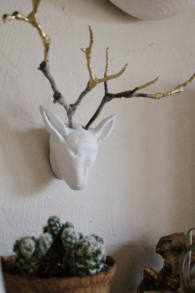 DIY Young Buck Sculpture