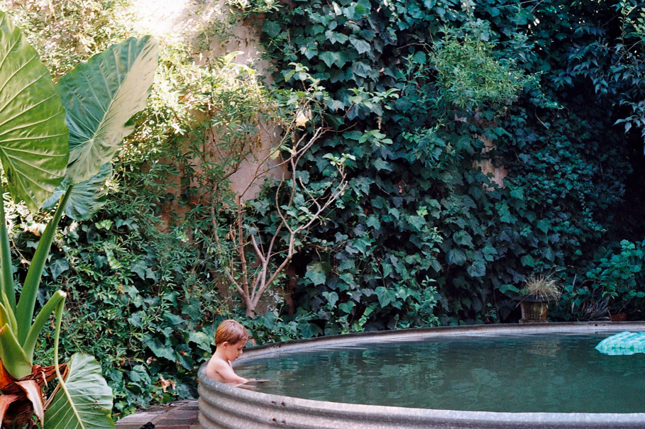 Galvanized Soaking Pool // Poppy Haus