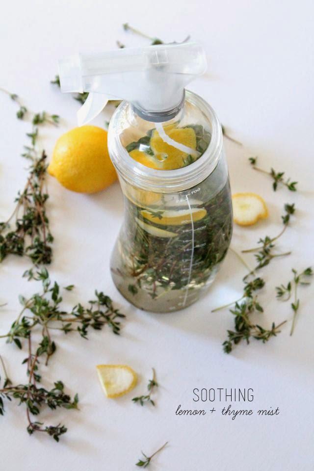 Lemon-Thyme Body Mist // Poppy Haus
