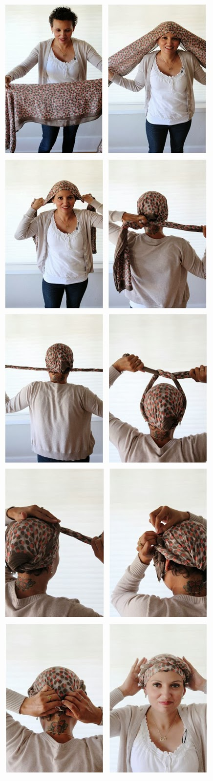 How to tie a braided crown after chemo // Poppy Haus