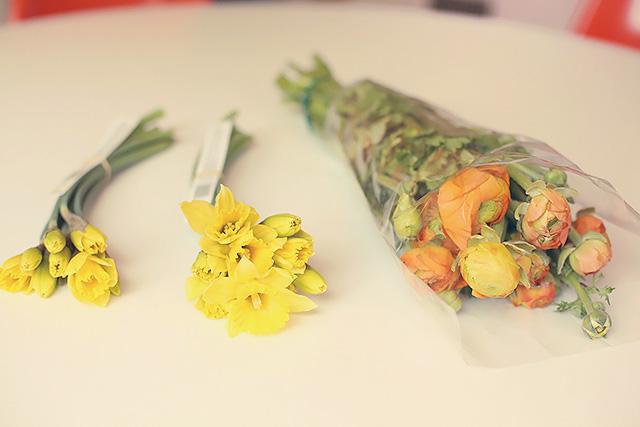 grocery store flowers in season