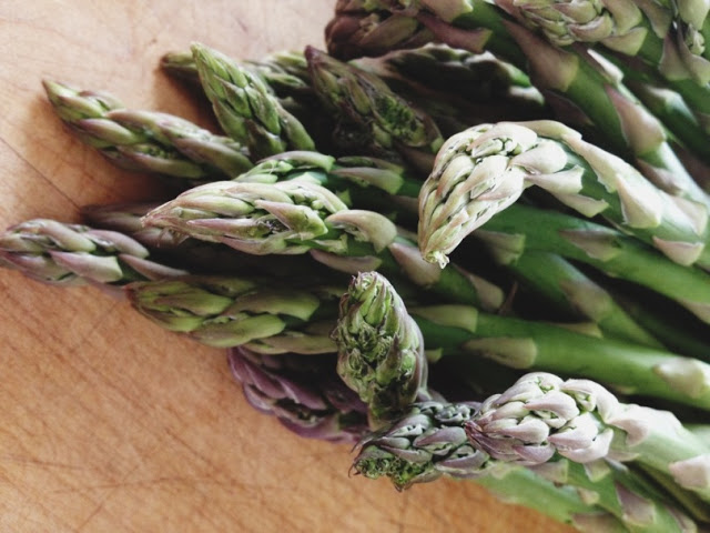 Asparagus Grits