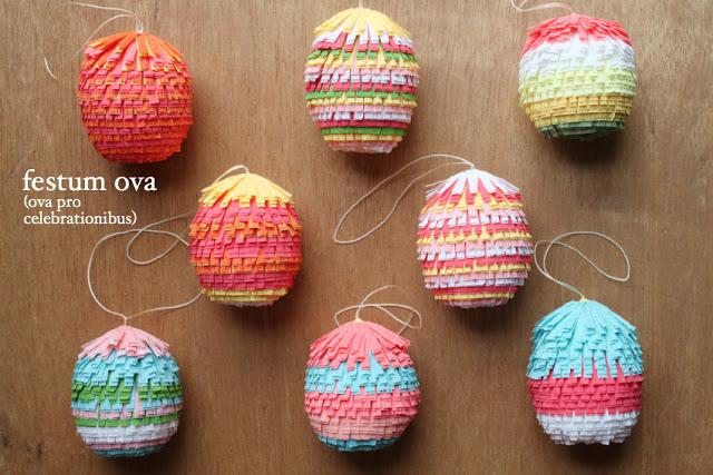 pinata eggs by Tiffanie Turner of  Corner Blog