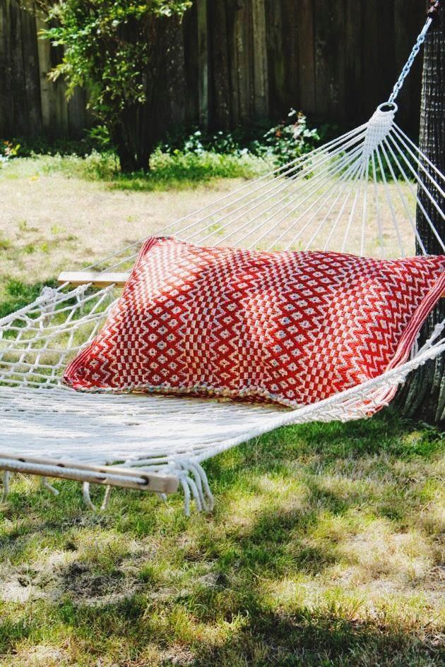 Indoor/Outdoor Pillow // Poppy Haus