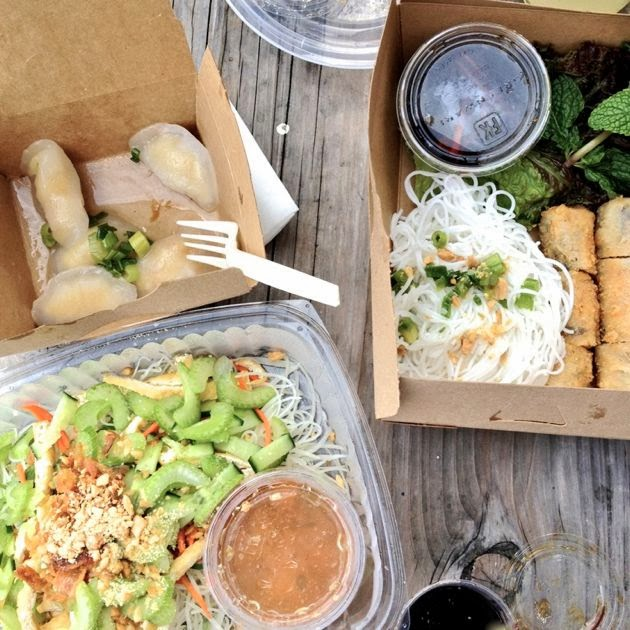 Out The Door: Papaya Salad, Imperial Rolls, Mung Bean Dumplings