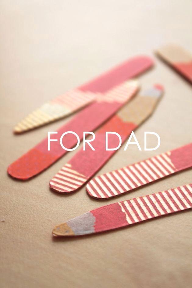 washi tape collar stays // poppy haus