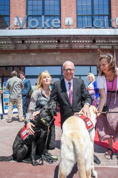 Arthur with Neads dogs.jpg
