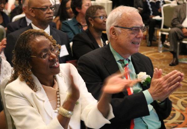 Executive Director, Gail Latimore and Arthur Winn