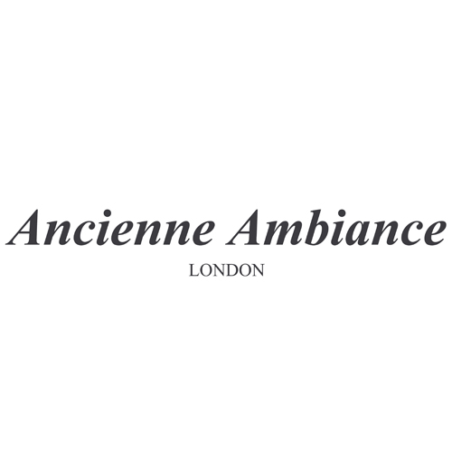 ANCIENNE AMBIANCE     Founded by Adriana Carlucci in 2004, Ancienne Ambiance is a niche luxury brand based in London. Although the brand's speciality is natural hand-poured luxury candles, Ancienne Ambiance spans a wide range of ancient inspired products from home fragrance and body care to jewellery.