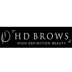 HD BROWS    Started as a unique seven-step salon based brow treatment. It has now developed on to become all things 'brows' and also trend-led professional make-up brand.