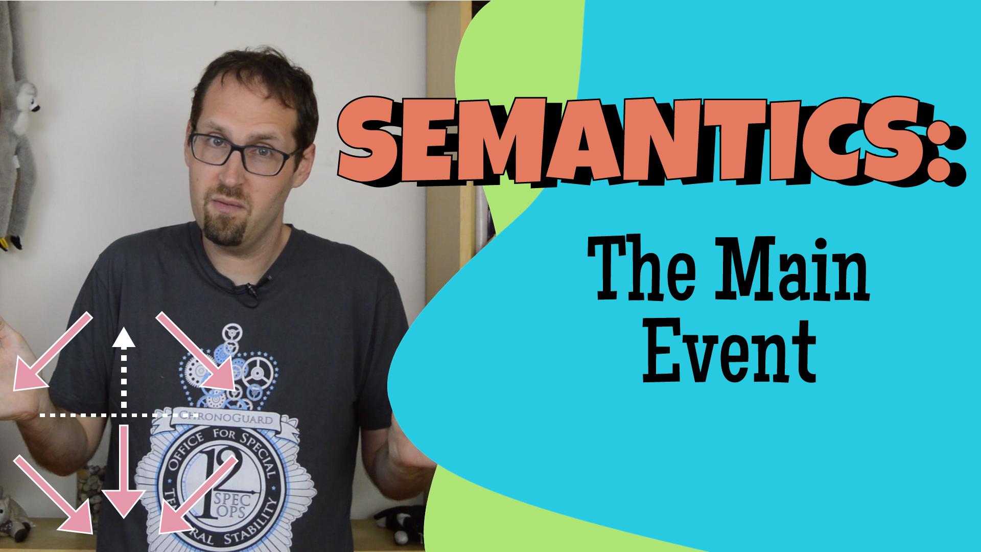 Event Semantics