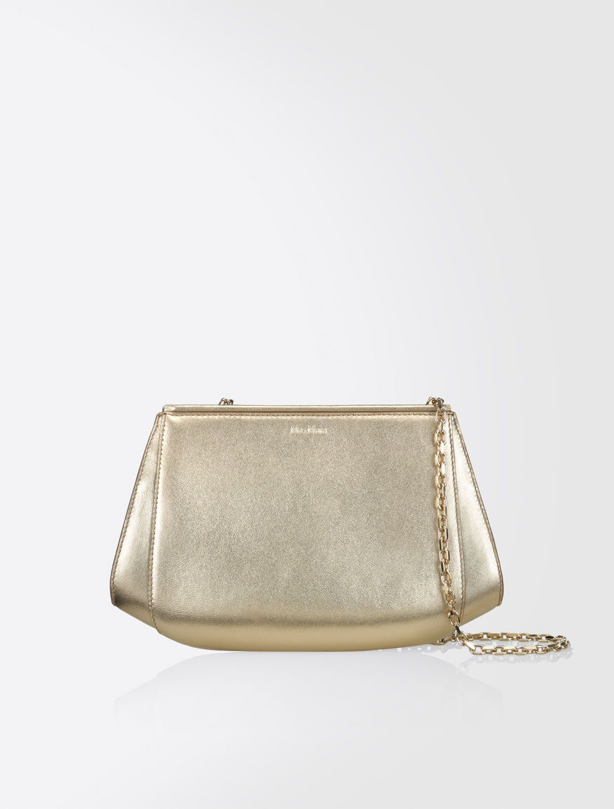 Max Mara Apotema Evening Bag Gold