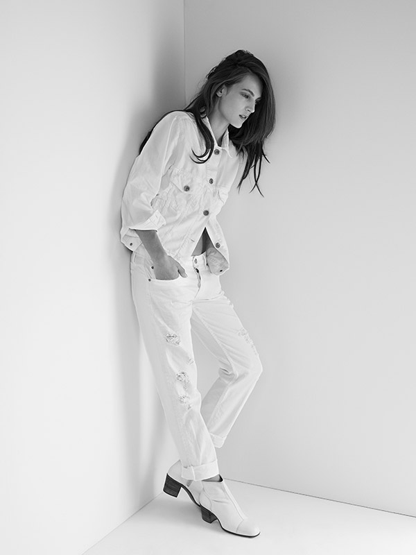 Strom Brand Look Book White Jeans