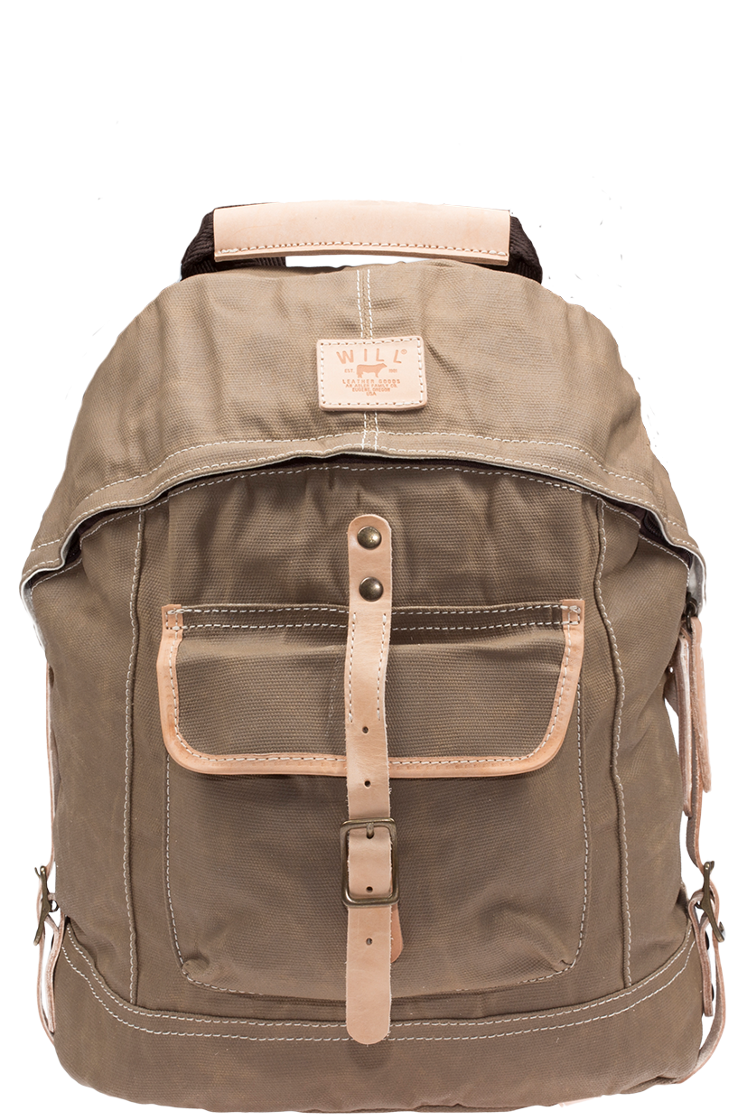 Will Leather Goods Dome Backpack