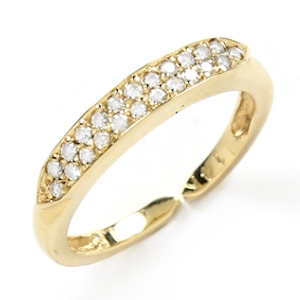 Loren Stewart Yellow Gold Mann Ring