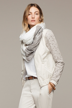 Fabiana Filippi Lazer Cut Lace Jacket