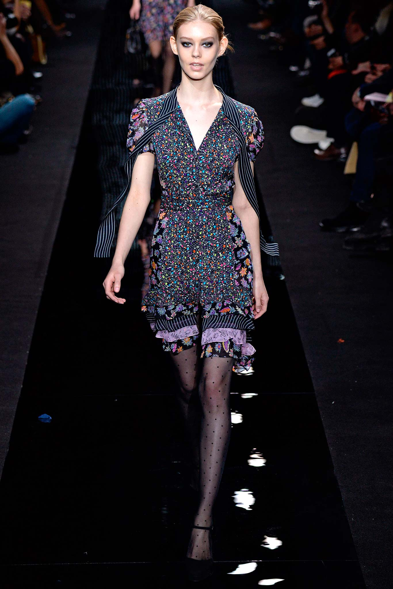 DVF Wrap Dress Fall 2015