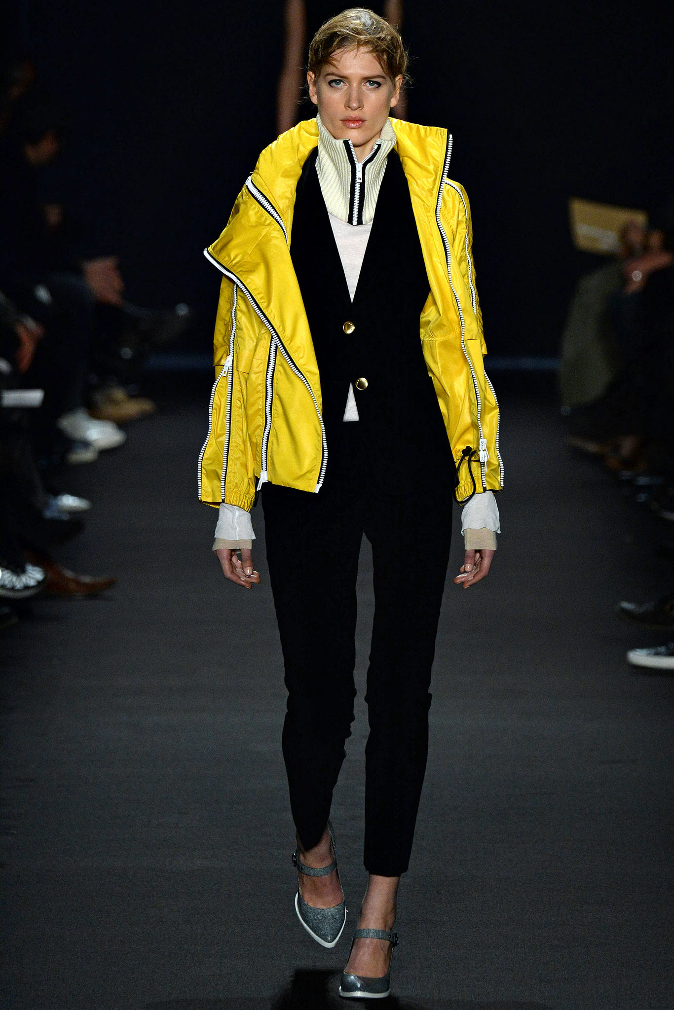 Rag & Bone Yellow Jacket Runway Fall 2015