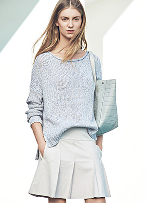 Vince Cotton Pullover Spring 2015
