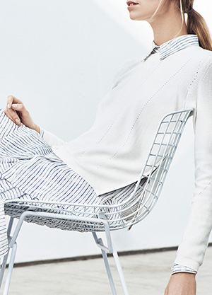 Vince Sweater with Zipper Spring 2015