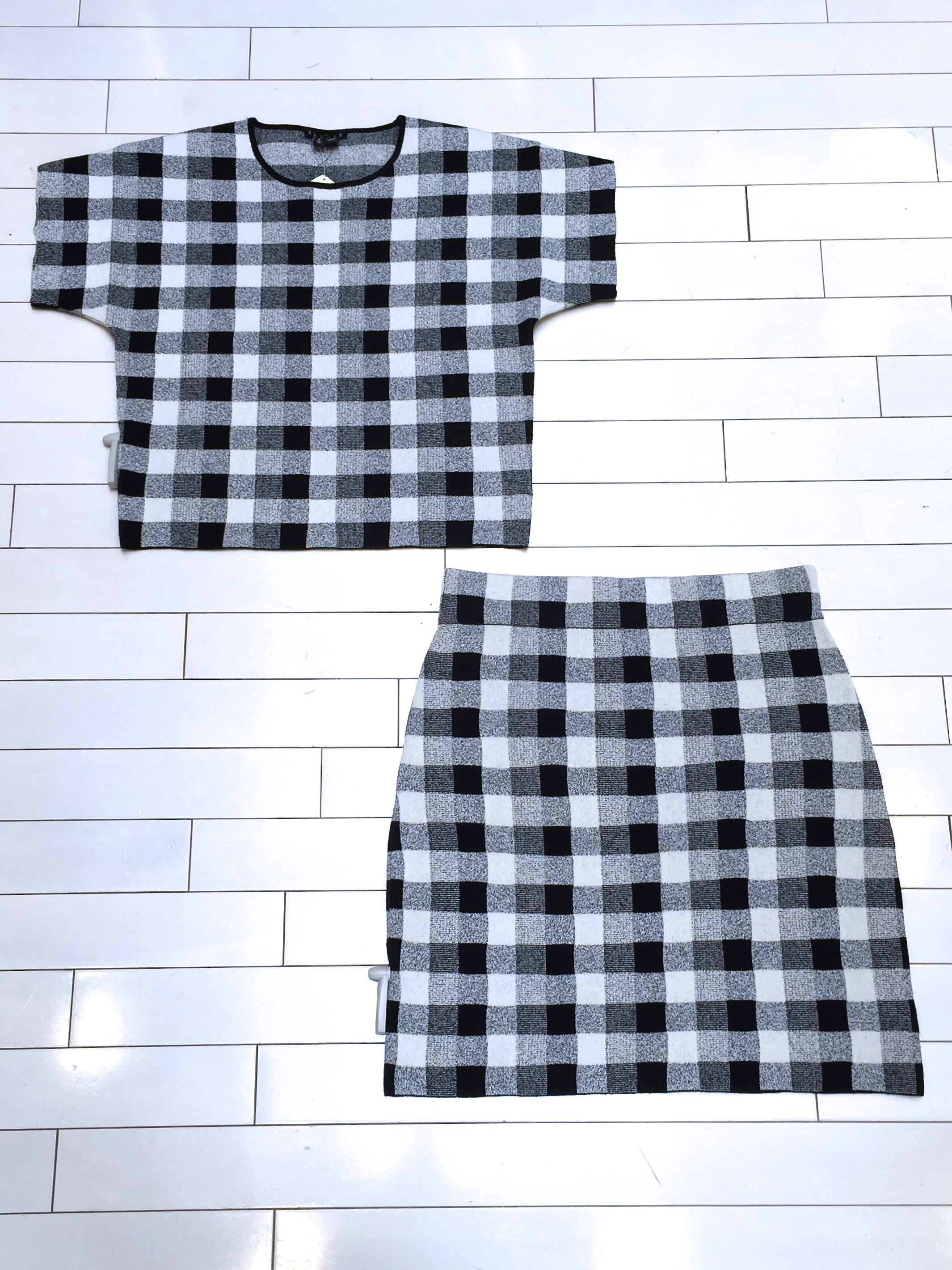 Theory Seblyn Top and Holeen Skirt