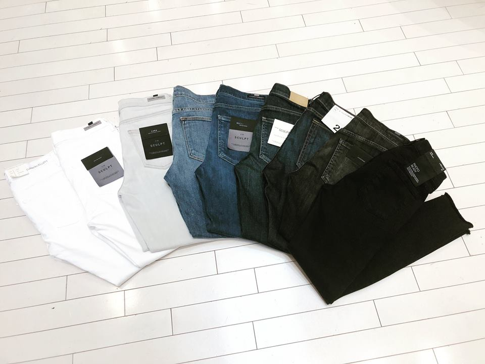 Styles from current/elliott, citizens of humanity, ag,  rag & bone, frame, and j brand