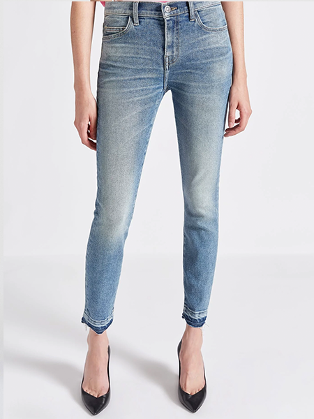 Released Hem - Not your average skinny jeans.Current/Elliott Stiletto Jean, $228