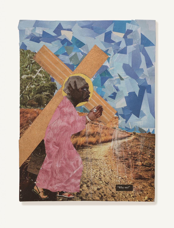 Jesus Carries the Cross to Calvary