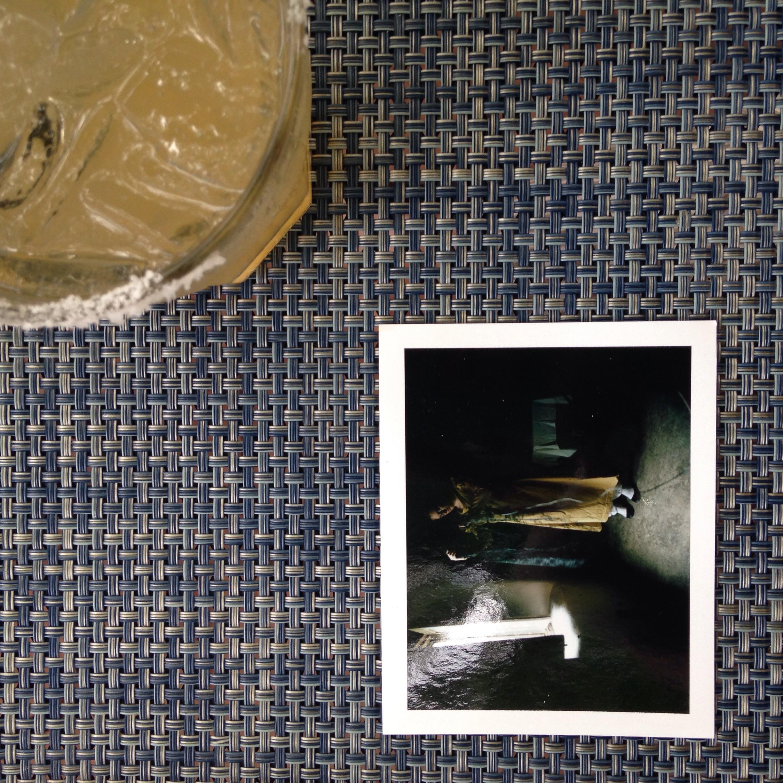 polaroid teaser + celebratory margarita