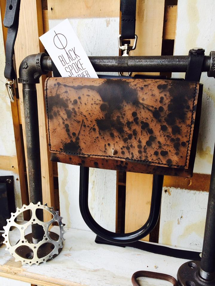 Display of the Deluxe Hip Bag in Inkblot at Pompadour.