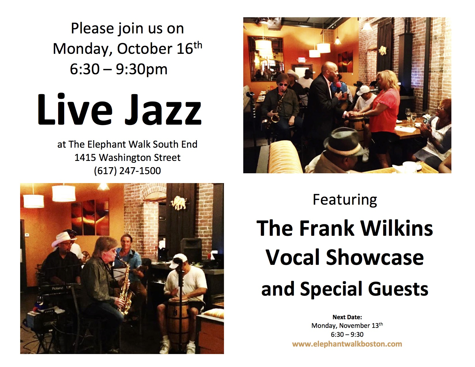 Jazz at The Elephant Walk.jpg