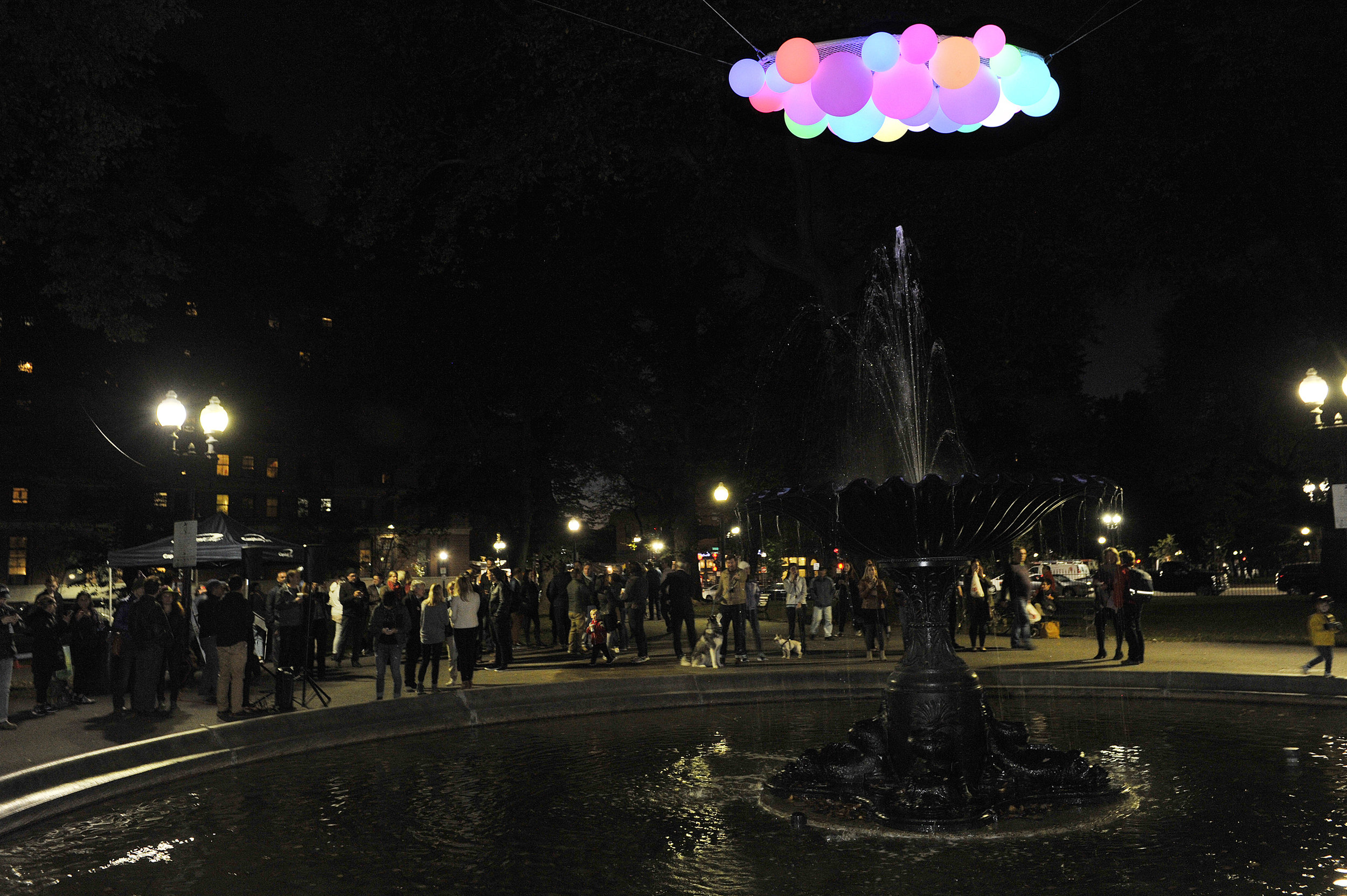 """""""Nimbus"""" lights up for the first time on Oct. 17"""