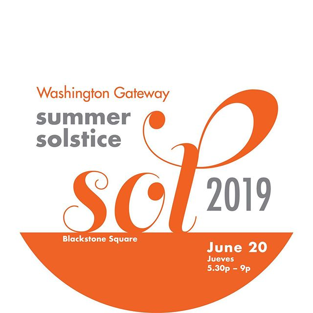 It's that time of year again! Join us for a party in the park at the 7th Annual South End Summer Solstice! Thursday June 20th 5:30-9:00 in Blackstone Square. Free and open to the public. All ages welcome. There will be music, food, drinks and games! Can't wait to see you there!  #boston #southend #summer #blackstonesquare #bostonmainstreets #summerfun #southendboston